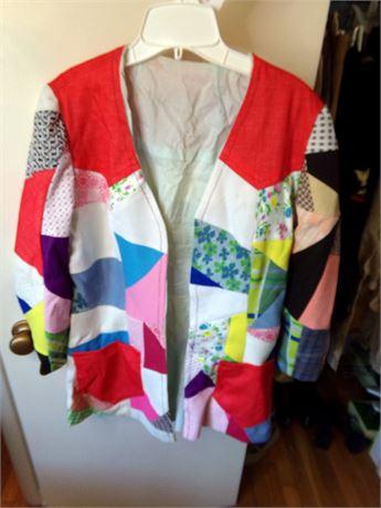 Patchwork Jacket- Handmade