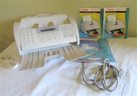 Canon Multipass Color Bubble Jet Printer, Fax, Copier, & Scanner