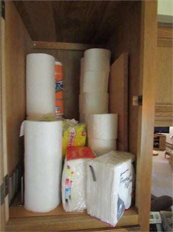 Paper Towels, Napkins Toilet Paper