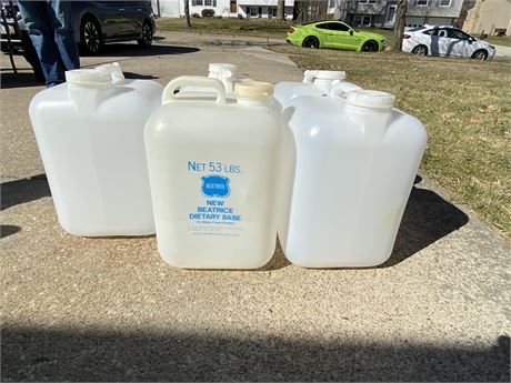 Gallon Plastic Water Jugs Lot