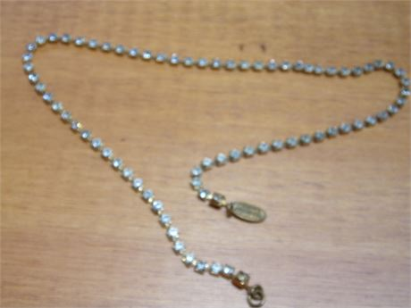Miriam Haskell Necklace (missing clasp)