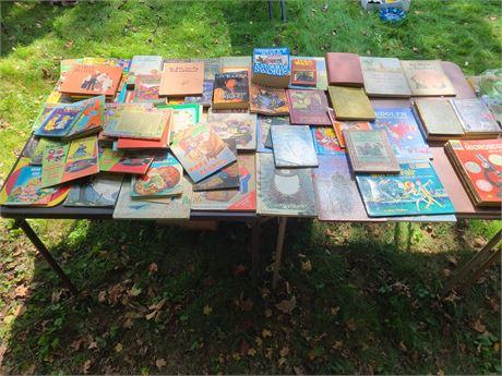 Kids Book Lot: Vintage & Newer