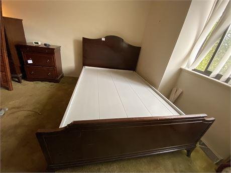 True Grand Rapids Cabinet Making Certified Bed Frame