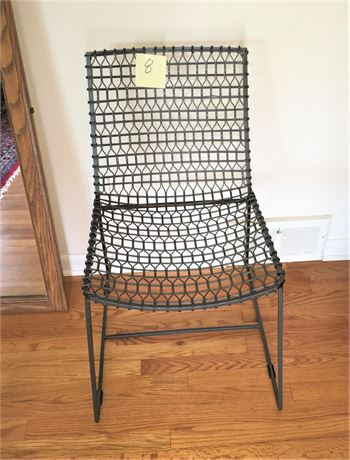 Crate Barrel Metal Accent Chair