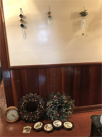 3 Windchimes and Wall Hangings Lot