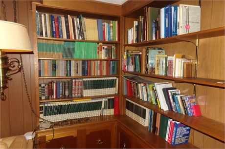 Large Book Lot