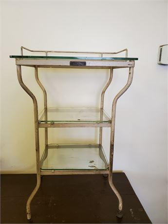 Antique H. H. Hessler Metal Medical Table