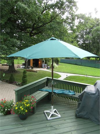 Umbrella with Stand and Cover