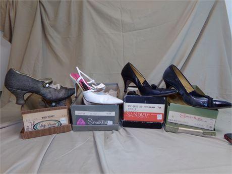 Vintage Shoes Size 6 1/2- 7 1/2
