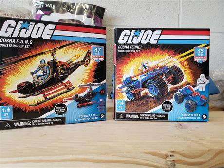 G.I.Joes NIB construction sets