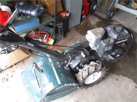 "Deluxe Sears Craftsman 17"" 6 HP INTEK Garden Roto Tiller"