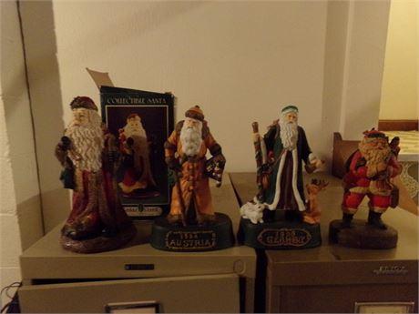 Santa Collectibles Lot