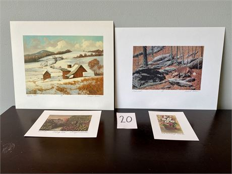 Signed & Numbered Lithographs - Gerald H. Lubeck & Kathleen Maguire Morolda - #2