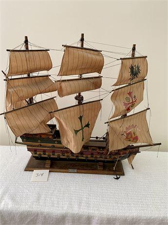 Galeon Espanol Siclo XVI Ship Replica