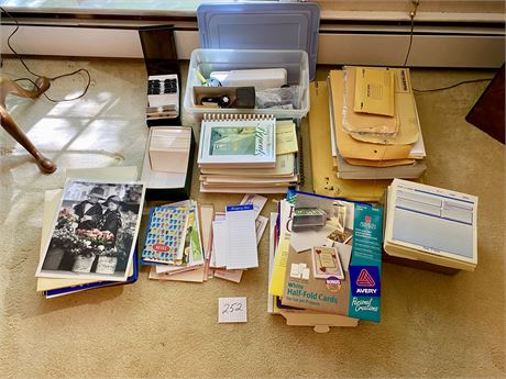 Large Office Materials Lot #1