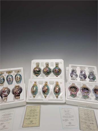 Bradford Editions Porcelain Ornaments