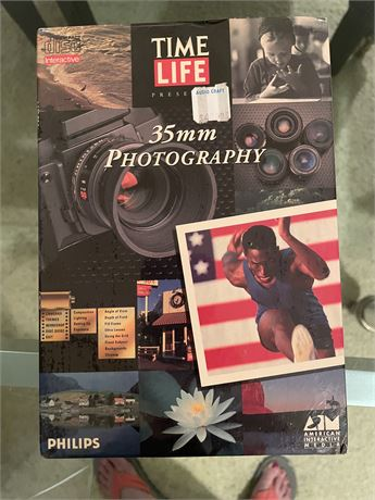 Time Life 35mm Photography Interactive Course - Never Opened