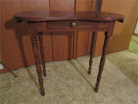 Kidney Table, Vintage Wood