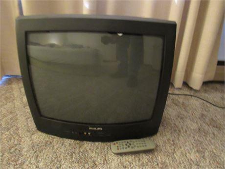 """Philips 19"""" TV w/ Remote"""