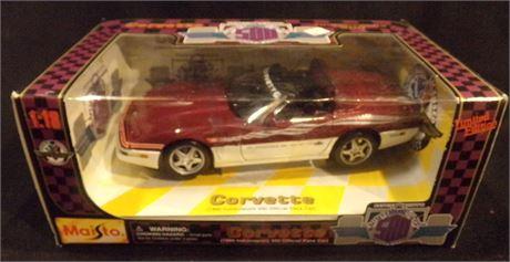 Corvette pace car diecast
