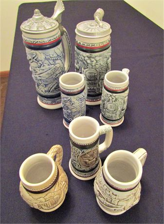 Collectable Beer Steins Presented by Avon