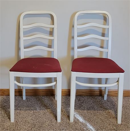 2 Ladderback Chairs