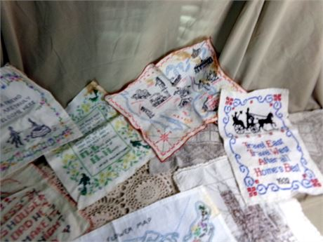 Large Collection of Vintage Embroidery