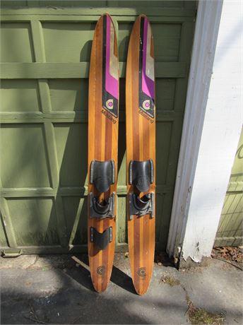 Cypress Gardens Mustang Water Skis