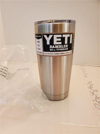 New Yeti Rambler Travel Tumbler