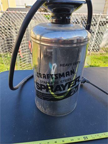 Craftsman Stainless Steel Sprayer