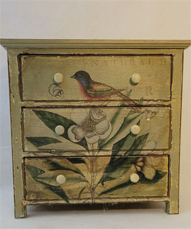 Small Handpainted Chest of Drawers