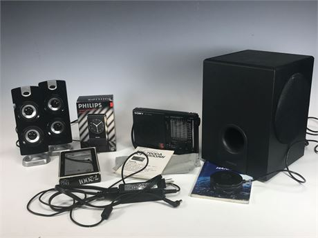 Electronics Speakers Group Lot