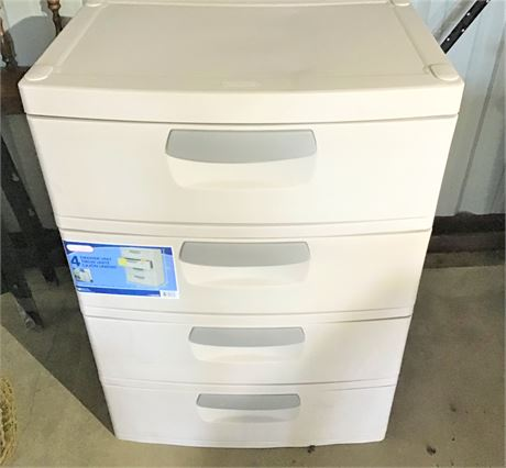 Sterilite 4-Drawer Storage Unit