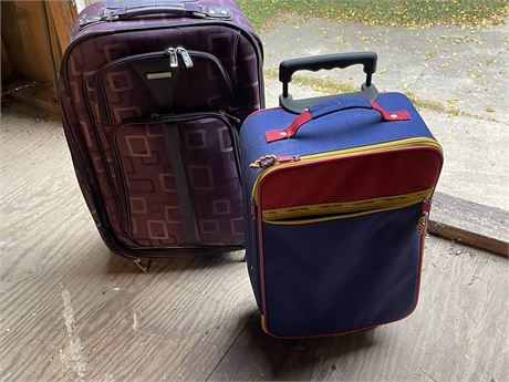 Two Pieces of Luggage