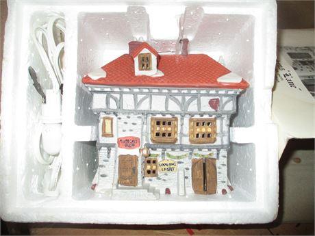 Vintage Dept 56 Dicken's Tuttle's Pub Heritage Christmas Village Collectible
