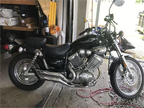 1997 Yamaha Virago Motorcycle Model XV5 - 3583 miles on odometer