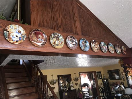 Fairy Tale Collector Plates (10) - mostly Knowles