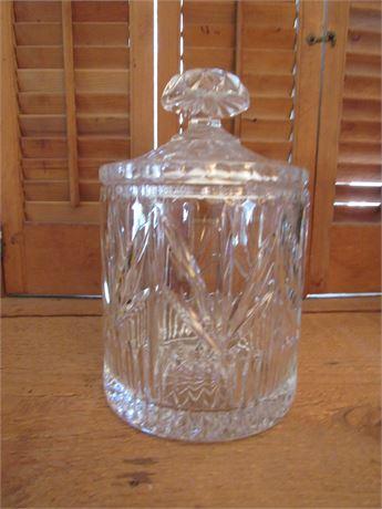 Waterford Lead Crystal Cookie or Biscuit Jar