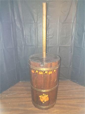 Decorative churn