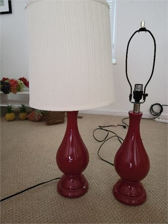 Table Lamp Pair