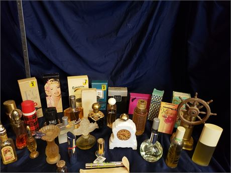 Collectible Perfume bottles from Avon and more
