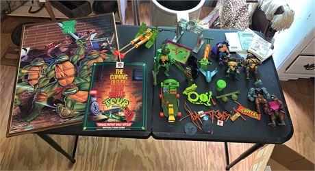 Teenage Mutant Ninja Turtles Action Figures, Poster and More