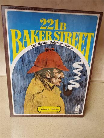 221B Baker Street Master Detective Sherlock Holmes Game NIB