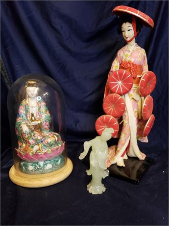 Vintage Japanese Figurines