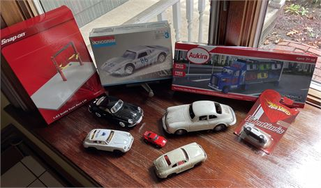 Various Model & Toy Cars Including Three New In Box - See Photos