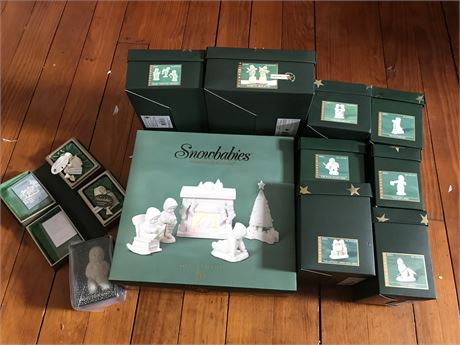Snowbabies New in Original Box (12)