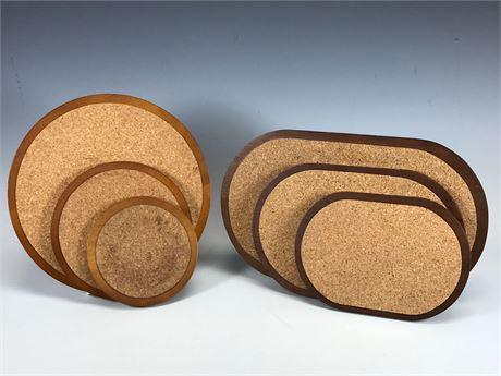 Cork Wood Hot Plate Holder Made in Sweden