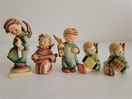 Hummel/Goebel Angel Figurines - Lot of 5
