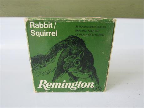Remington Rabbit/Squirrel Load 12 GA 25 Shot Gun Shells
