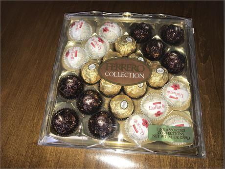 Unopened Ferrero Rocher Ferrero Collection Chocolates